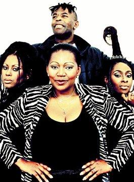 Boney M featuring original lead singer Liz Mitchell