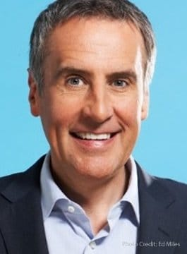 Conference presenter Dermot Murnaghan