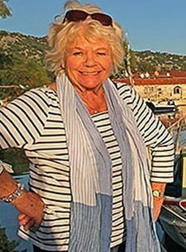 Judith Chalmers OBE - Travel expert and Travel presenter