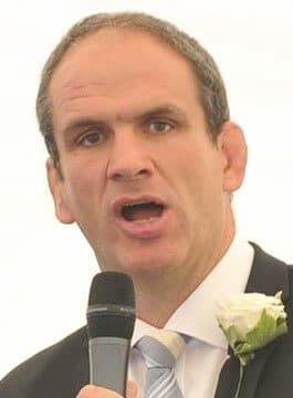 Martin Johnson - Former England Rugby Captain