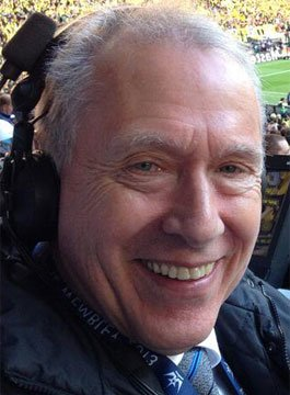 Football Commentator Martin Tyler