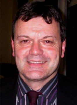 Former England Footballer Steve Hodge