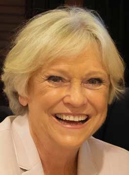 Sports Presenter Sue Barker