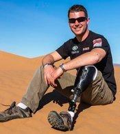 Tony Harris in Desert