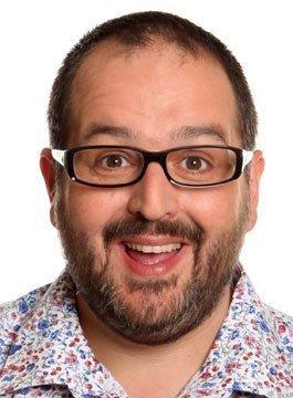 Comedian Justin Moorhouse