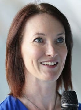Cricket Broadcaster Alison Mitchell