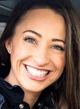 Motoring presenter Rebecca Jackson