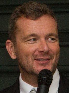 Rugby Presenter Sean Holley