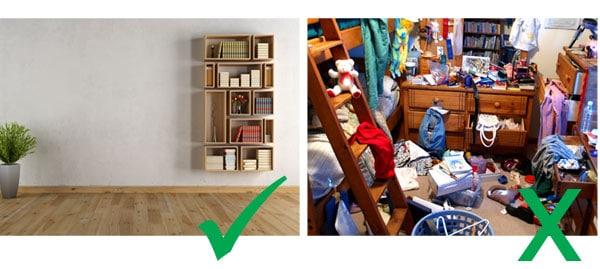 Tidy Room v Messy Room for Remote Speech